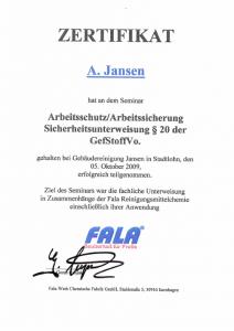 Arbeitsschutz | Anne Jansen | Gebäudereingung Jansen GmbH | Stadtlohn
