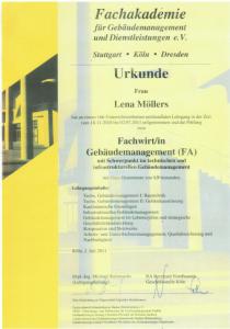 Fachwirt Gebäudemanagement | Lena Möllers | Gebäudereingung Jansen GmbH | Stadtlohn