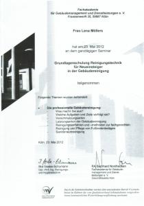 Reinigungstechnik | Lena Möllers | Gebäudereingung Jansen GmbH | Stadtlohn