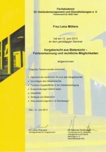 Vergaberecht aus Bietersicht | Lena Möllers | Gebäudereingung Jansen GmbH | Stadtlohn